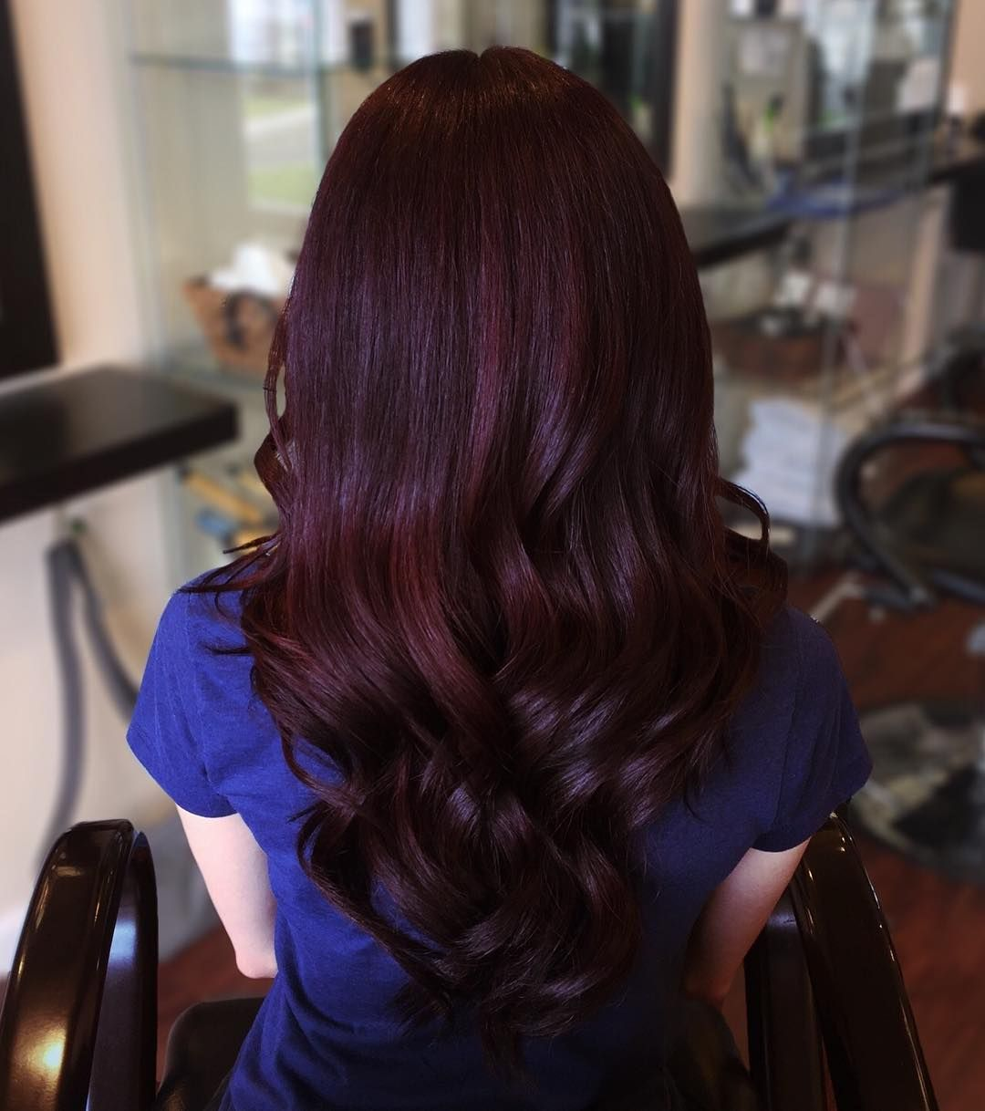 Cool 30 Ravishing Black Cherry Colored Hair Newaylook Pinterest