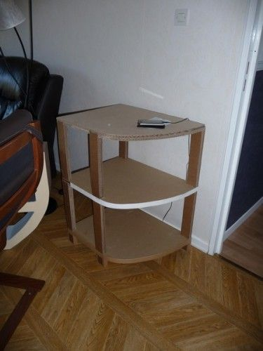 Etagere facon meuble d\u0027angle MEBLE ;) Pinterest