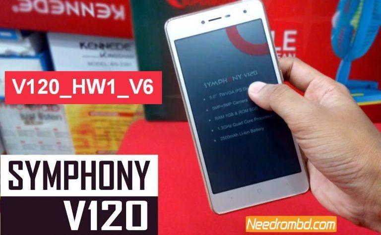 Symphony V120 MT6580 7 0 Flash File Without Password