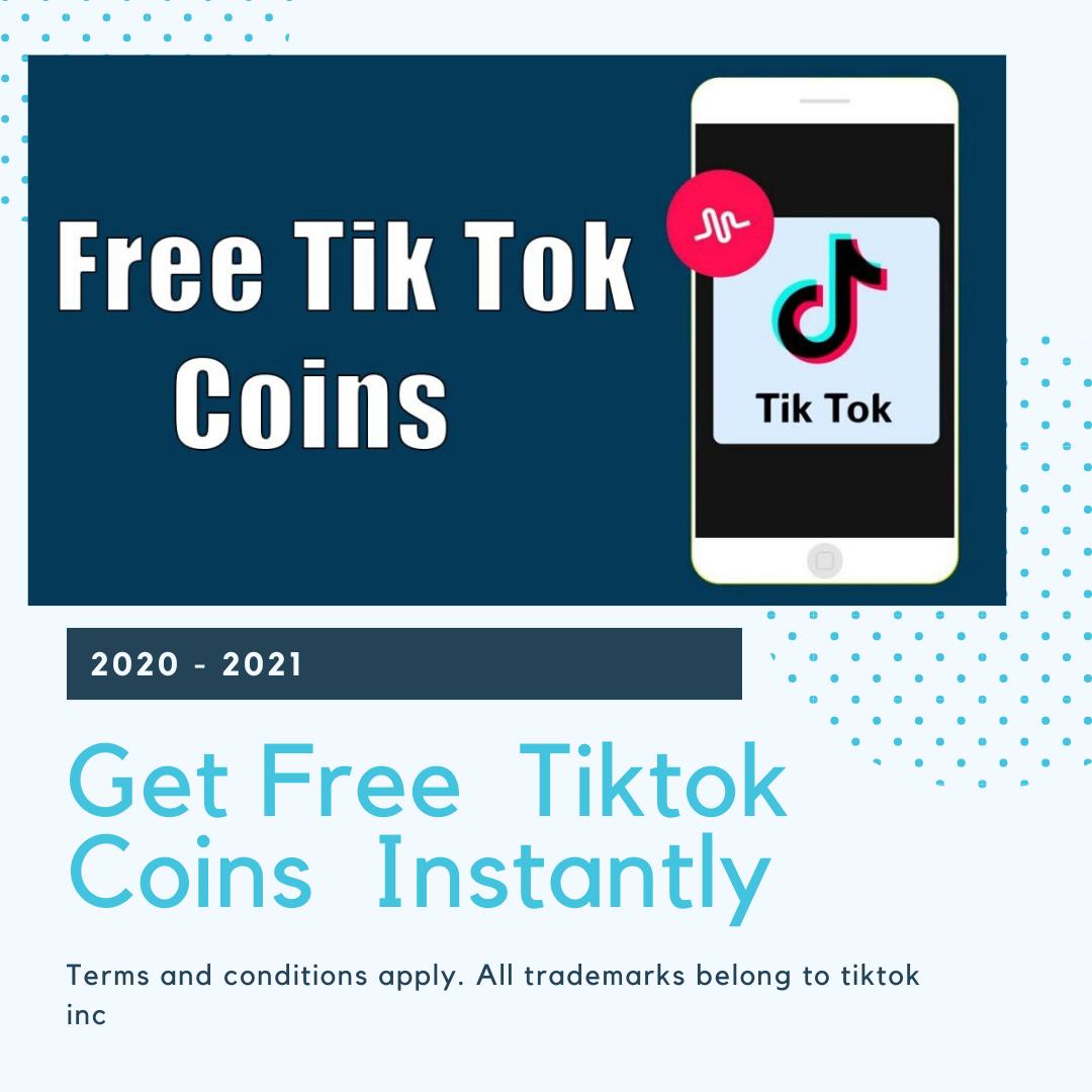 Tiktok Coin Generator Free Tiktok Coins Ayilar