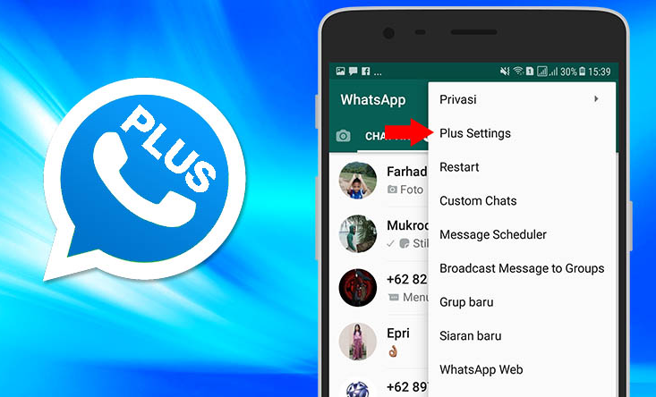 Download Whatsapp Mod Terbaru Anti Banned Dan Blokir Rogmasters Download Yowhatsapp Yowa Anti Ban V7 99 Apk Android Terbaru Gbwh In 2021 Whatsapp Gold Messages Mod