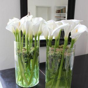 Blumen Dekoration mit Calla  Blten  Blumen  Deko  Blumen Hochzeit deko und Blumendeko