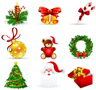 Más de 70 adornos navideños para hacer tarjetas de Navidad | Banco ...