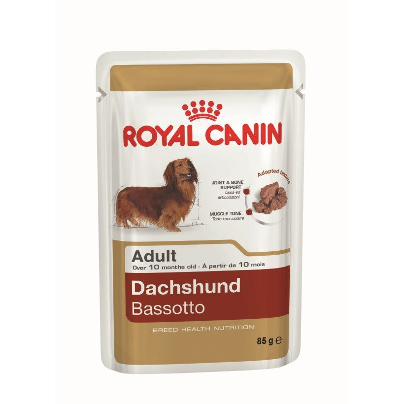 Royal Canin Dachshund Loaf Pouch Dog Food 12 X 85g Best Dog Food