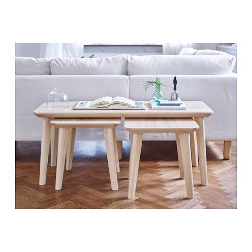 Lisabo Table D Appoint Plaqué Frêne Idée Déco Pour Chez