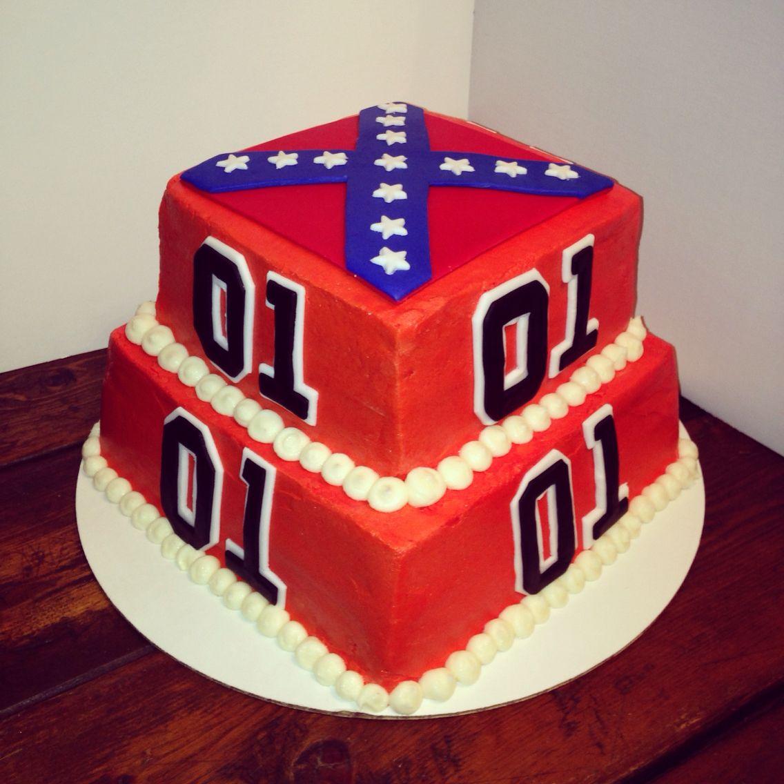 Dukes Of Hazzard Birthday Cake Made By Suga Mama Sweets Cakes