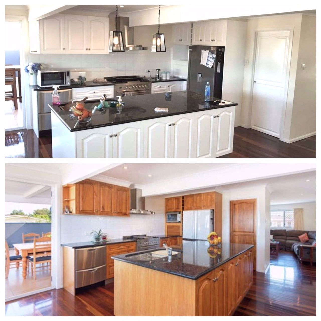 Brisbane And Gold Coast Resurfacing And Spray Painting All Kitchens To A Modern 2 Pack Master Piece Kitchen Images Kitchen Modern