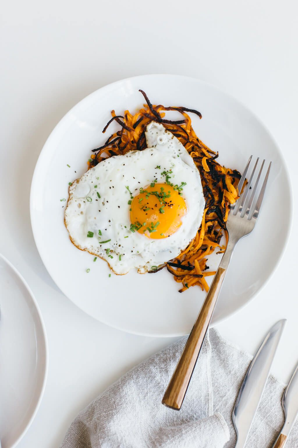 (glutenfree, vegan, paleo) These sweet potato hash browns