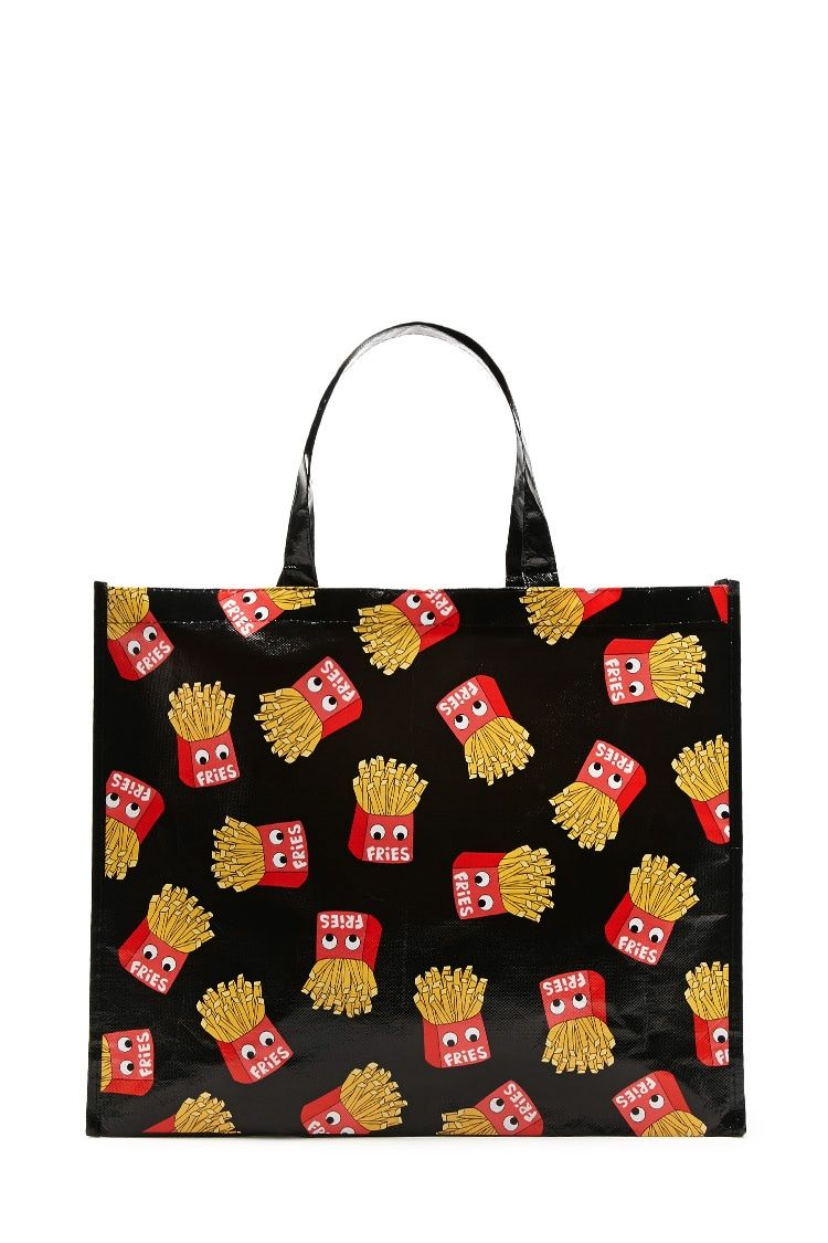 French Fries Eco Tote Bag
