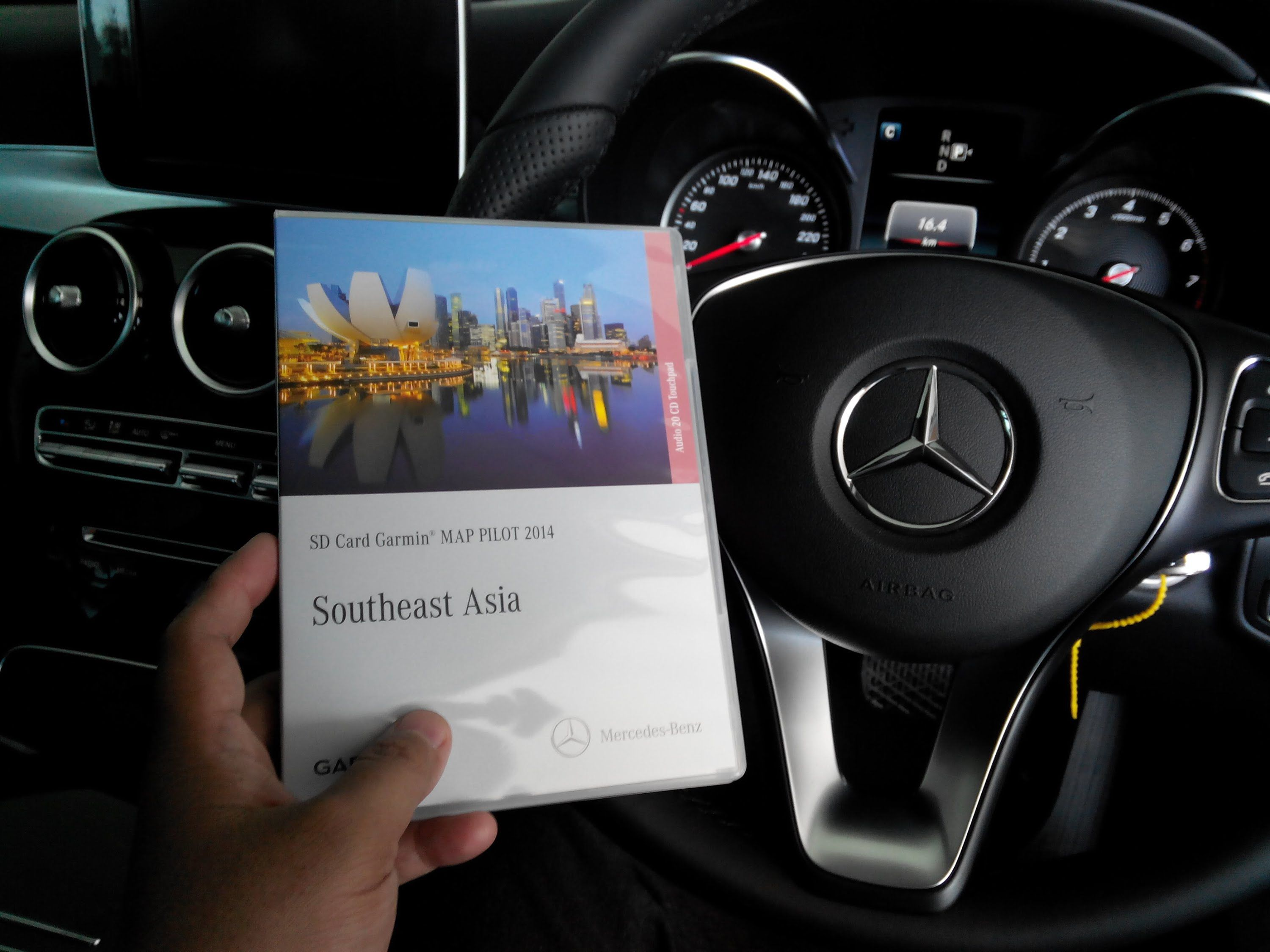 how to install garmin sdcard map pilot for new mercedes c 200 ava