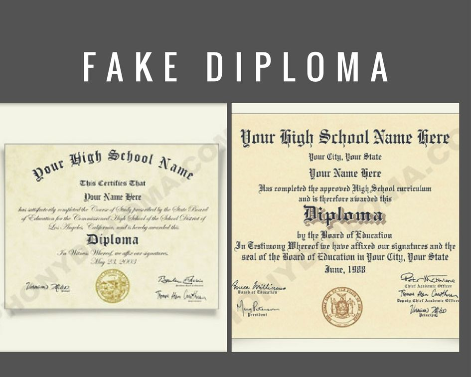 We provide Fake Diploma includes proper fonts, wording, layout and - Diploma Wording