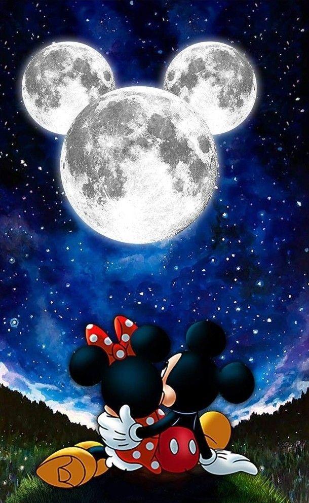 Ich wünschte, es gäbe so einen Mond - #dera #das #existierte #Lua #who - #MickeyMouseQuotes #MickeyMouseSilhouette