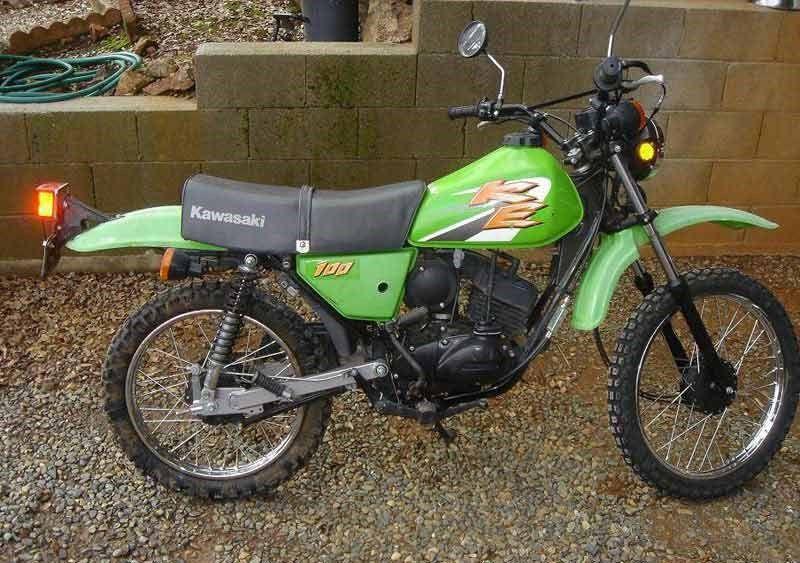 KAWASAKI KE100 19741998 Review MCN Bikes – Kawasaki G5 100 Wiring Diagram