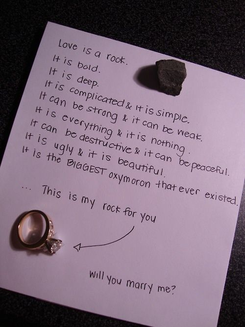 Complicated Cute Everything Love Marriage Proposal L