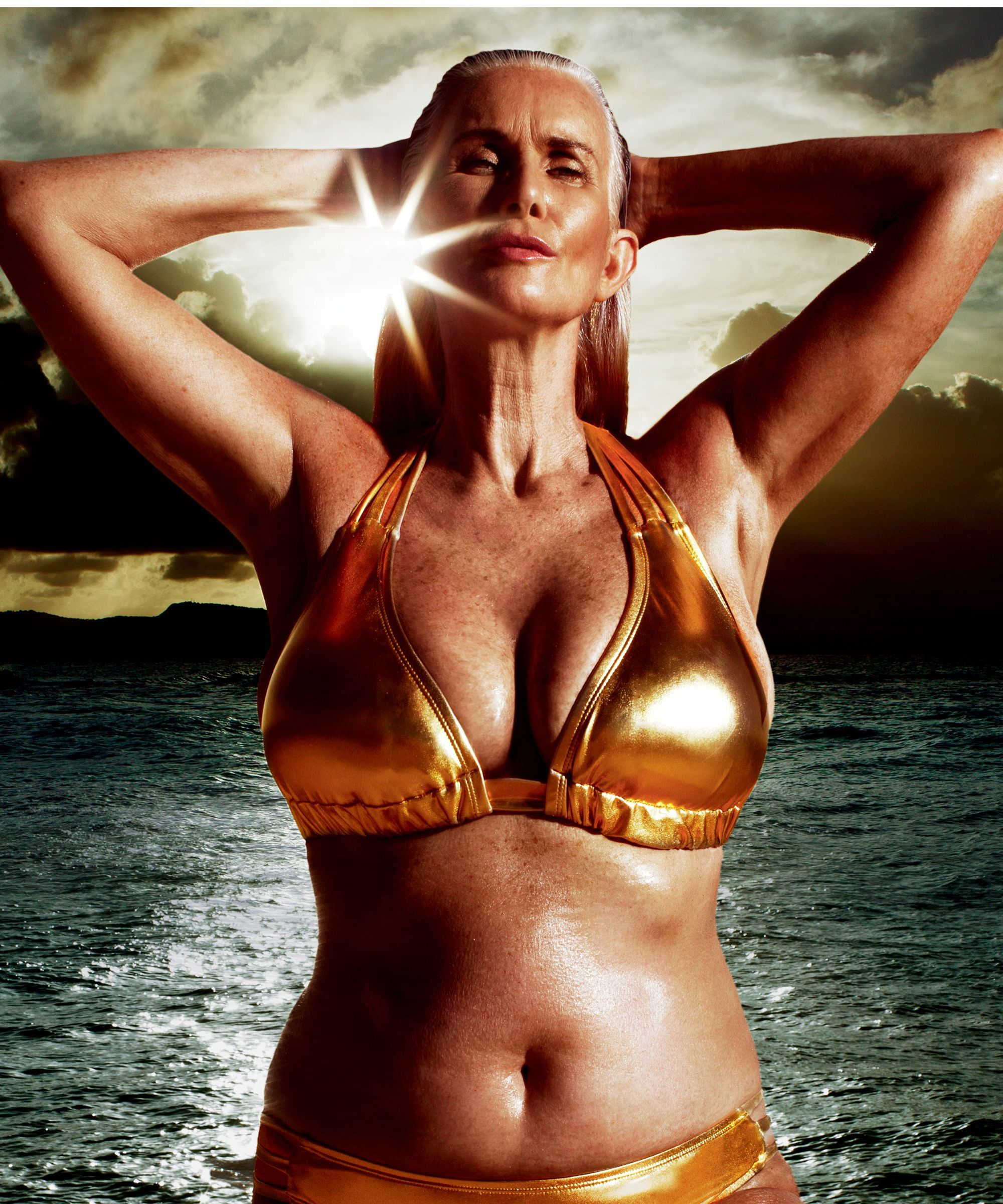 images This 60-Year-Old Swimsuit Model Proves Age is Just a Number