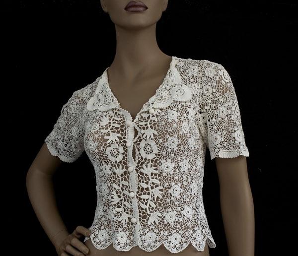 Camisa Apliques de Crochet … | Pinteres…
