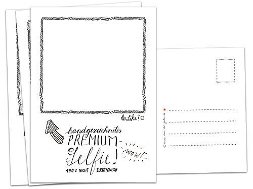 52 Premium Selfie Postkarten Zum Selbst Zeichnen Als Hochzeitsspiel Postkartengruss Partykarten Spiel Fur Die Hoch Hochzeit Spiele Hochzeitsspiele Postkarten