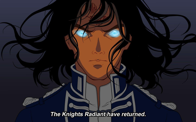 Stormlightarchive Anime Kaladin The Knights Radiant Have Returned