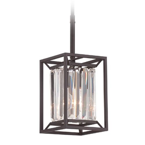 Designers fountain linares vintage bronze mini pendant light at destination lighting