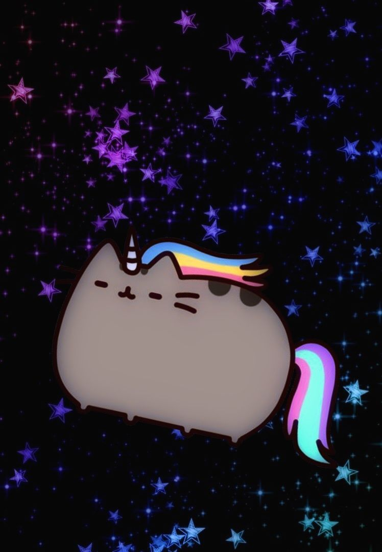 Cat Background Unicorn Pictures Pusheenicorn