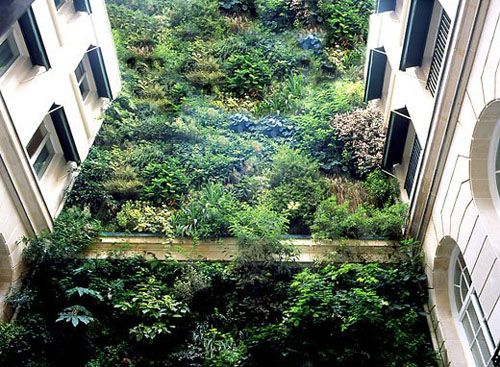 Vertical Garden In Paris By Patrick Blanc And Yes, It's