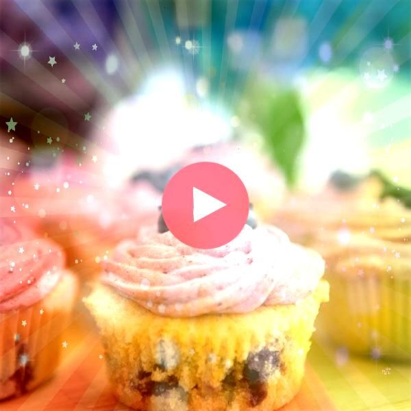 the recipe for these sweet lemon blueberry cupcakes with blueberry buttercream frosting They are a perfect summer treatGet the recipe for these sweet lemon blueberry cupc...