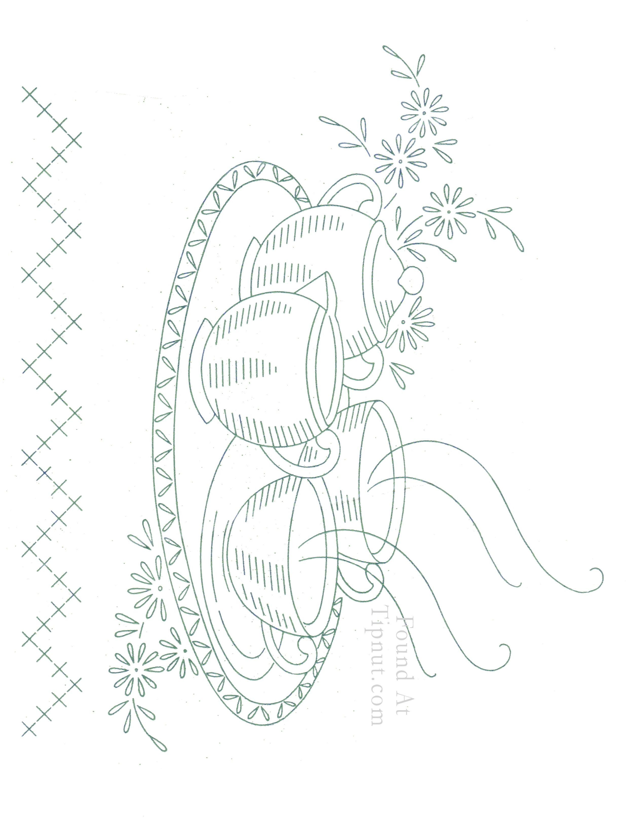 Vintage Embroidery Patterns Pinterest Vintage Hand Embroidery