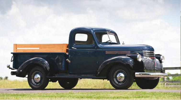 1941 Chevrolet Half Ton Pickup Classic Pickup Trucks Vintage Pickup Trucks Chevrolet Trucks