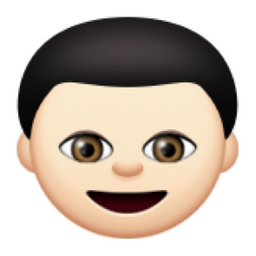 Boy and girl emoji on snapchat