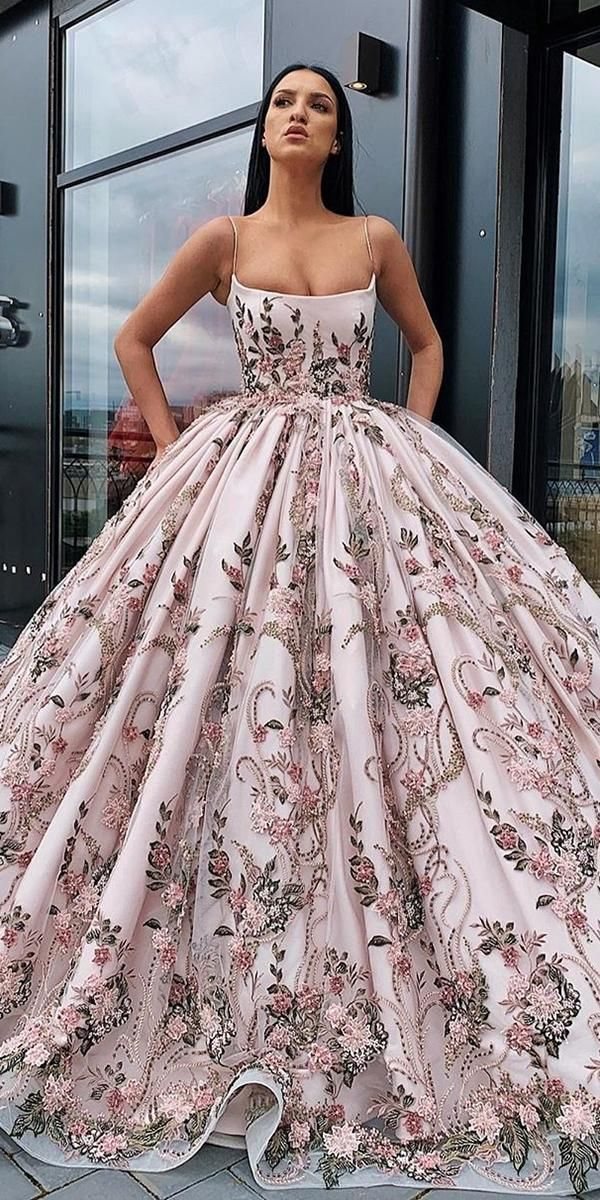 Photo of 21 Floral Wedding Dresses For Magic Party | Wedding Dresses Guide