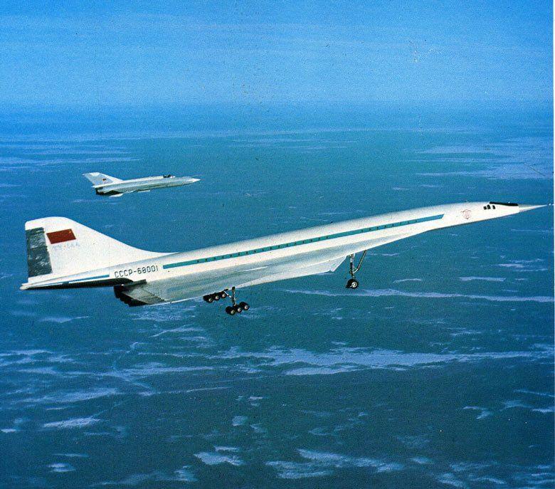 Ту-144 — самый красивый самолет советской авиации ...