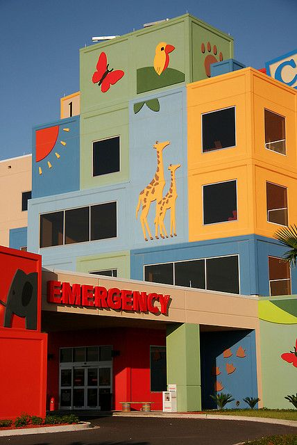 Edinburg Children S Hospital Children Hospital Design Kids Interior Design Kindergarten Design