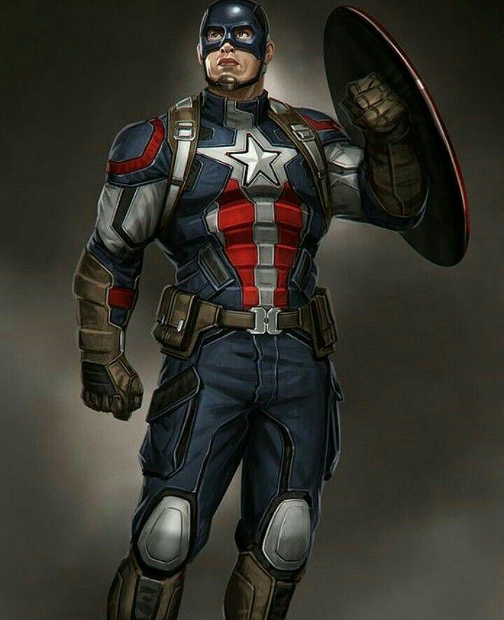 Badass captain america