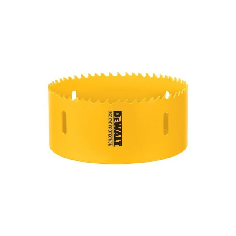 Dewalt D180060 3 3 4 Bi Metal Hole Saw Yellow Drilling Accessories Hole Saws 3 3 4 Inch Hole Saw Dewalt Metal