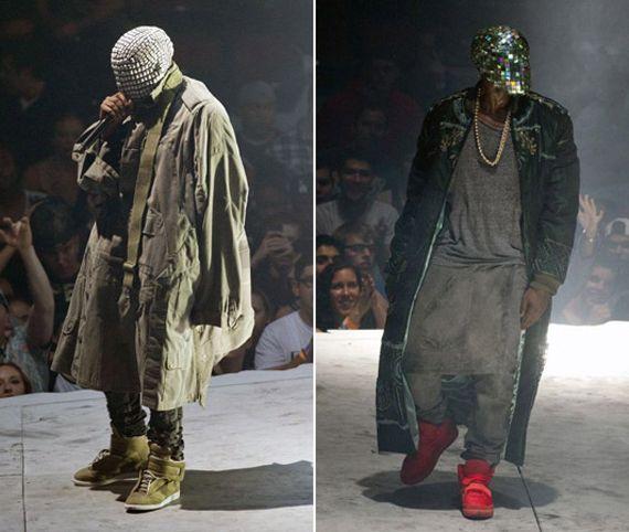 Kanye West Yeezus Tour Outfits Yeezus Tour Kanye West Yeezus Kanye West