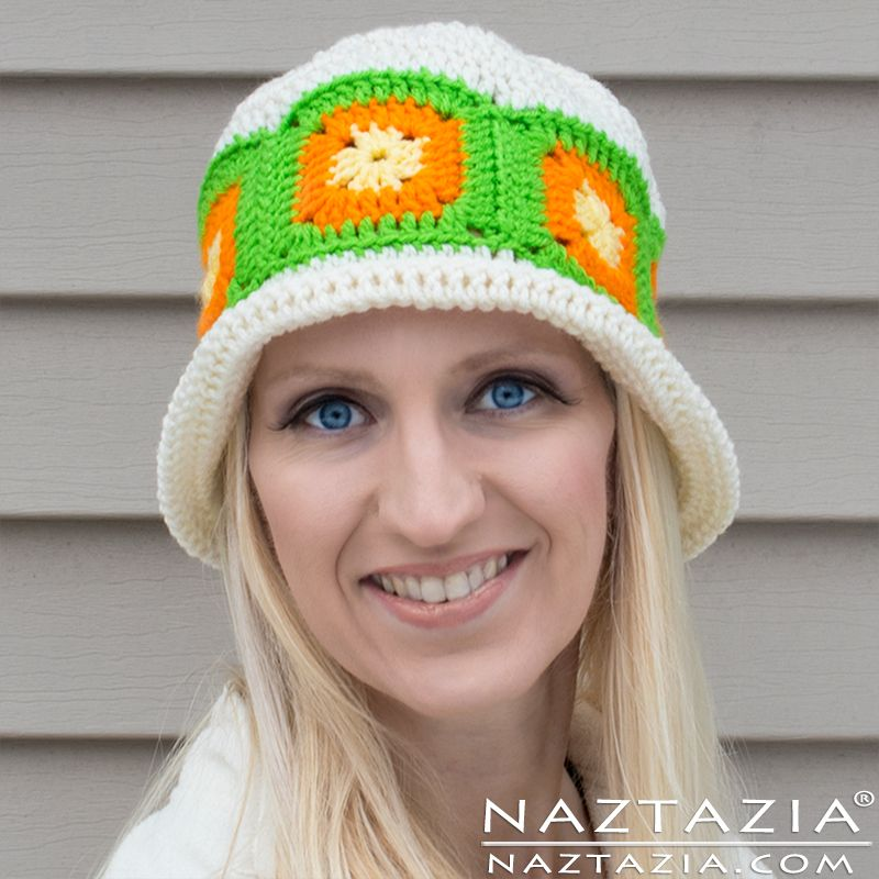 Citrus Splash Hat Free Crochet Pattern 365 Crochet Nuts Over