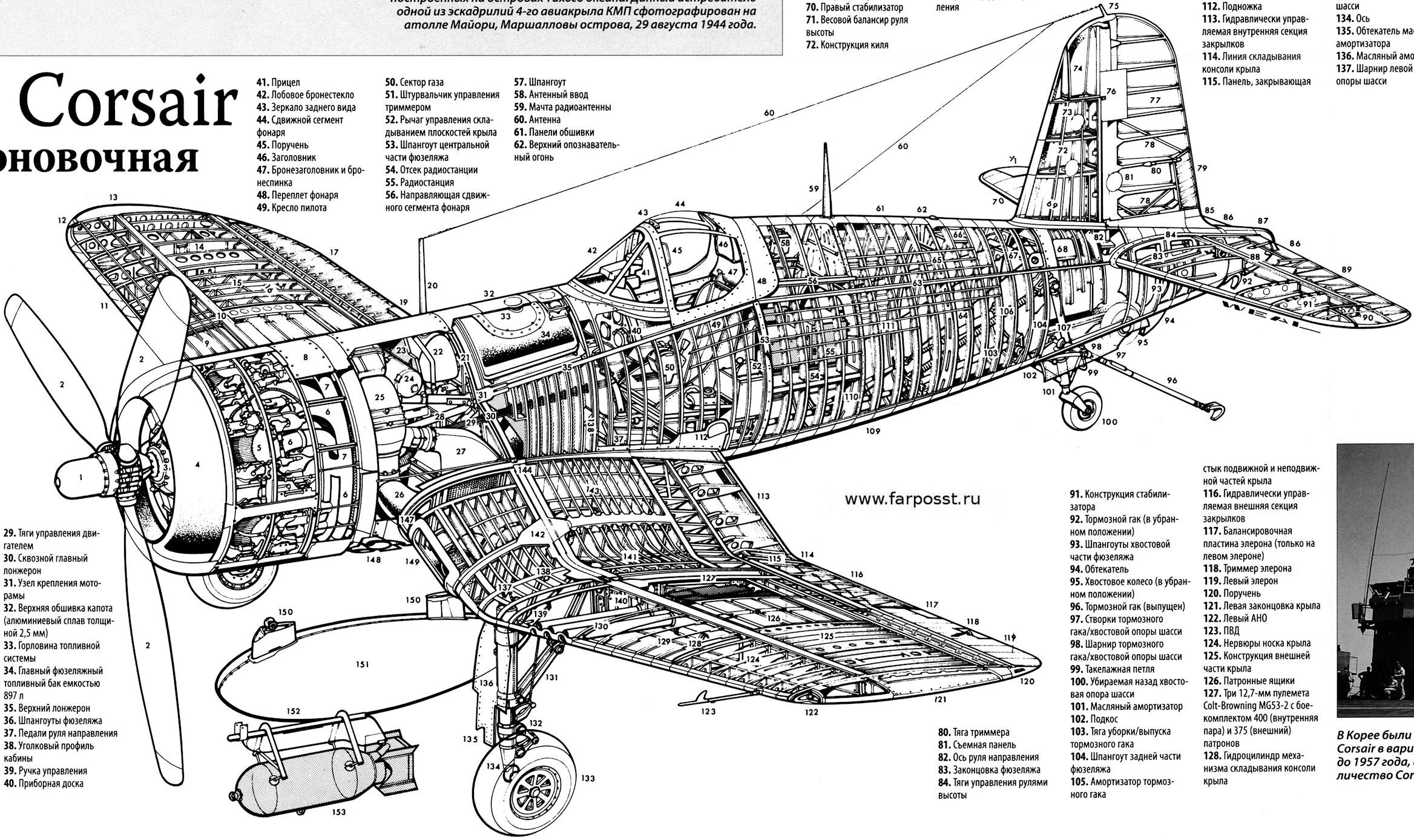 Aircarft Cutaway Stuff For Model Reference Pinterest Aircraft Corsair Engine Diagram