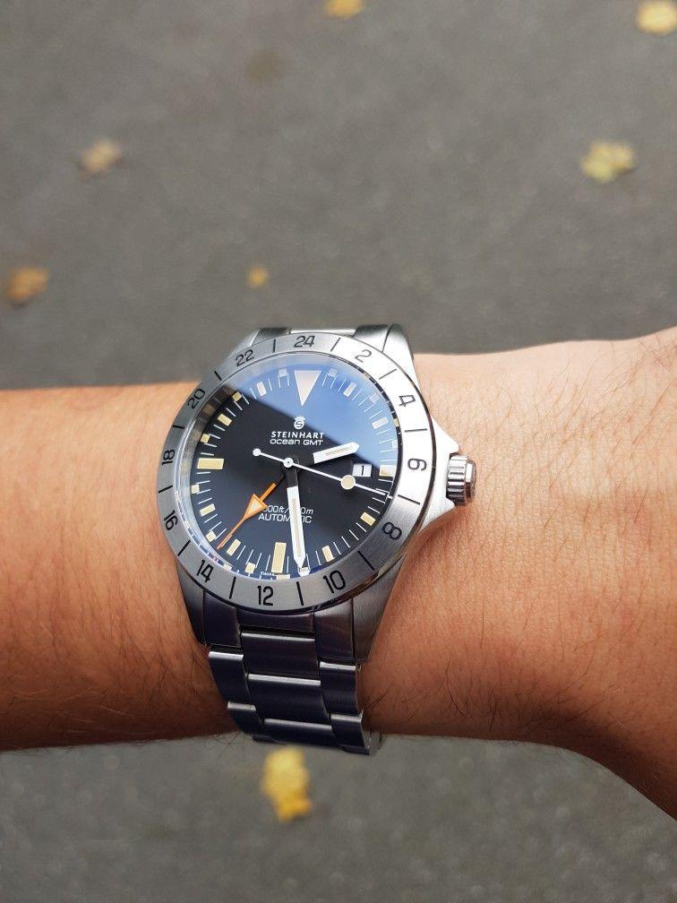 Steinhart Ocean Vintage Gmt New Vintage Watches Steinhart Watch Watches For Men