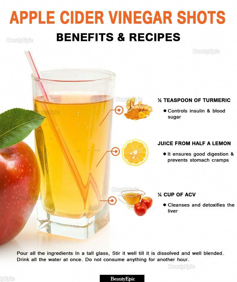 Apple Cider Vinegar Shots: Benefits and Recipes #naturalremedies #applecidervinegarbenefits