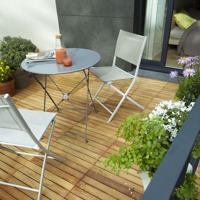 dalle de terrasse en almendrillo 50 x 50cm mm balcon pinterest. Black Bedroom Furniture Sets. Home Design Ideas