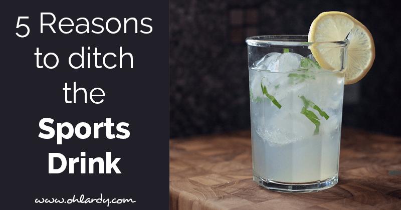 Healthy Sports Drink Recipe Sports drink, Drinks, Healthy