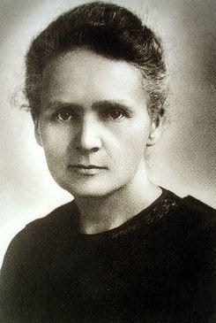 Casa L: Marie Sklodowska Curie. El Calendario Cultural de ...