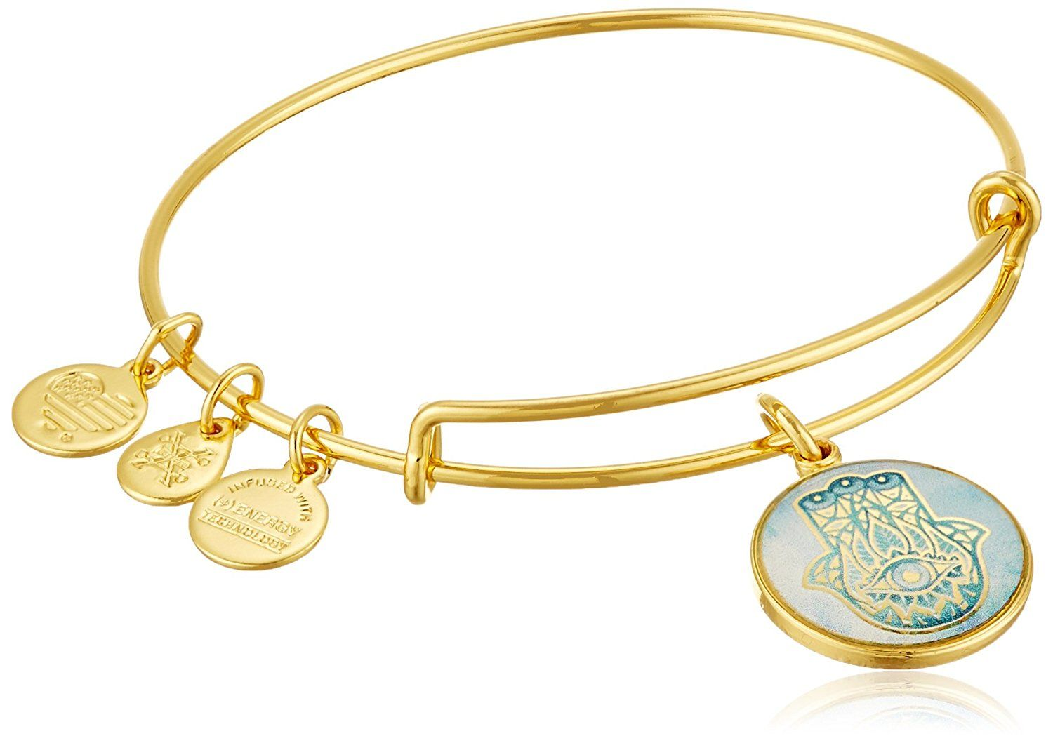 Alex and ani art infusion hand of fatima ewb rafaelian yellow gold