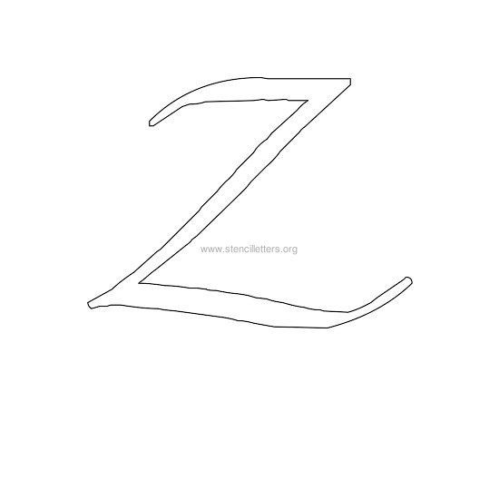 Uppercase calligraphy wall stencil letter z letter templates calligraphy stencil letters for walls in uppercase artistic calligraphy letters from a to z a z free printable calligraphy stencil capital letters in jpg spiritdancerdesigns Images