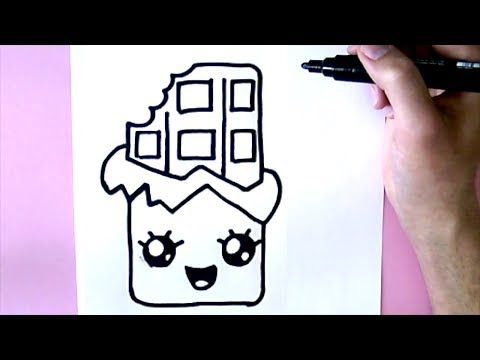 Come Disegnare Un Unicorno Carino Youtube Dessin Kawaii