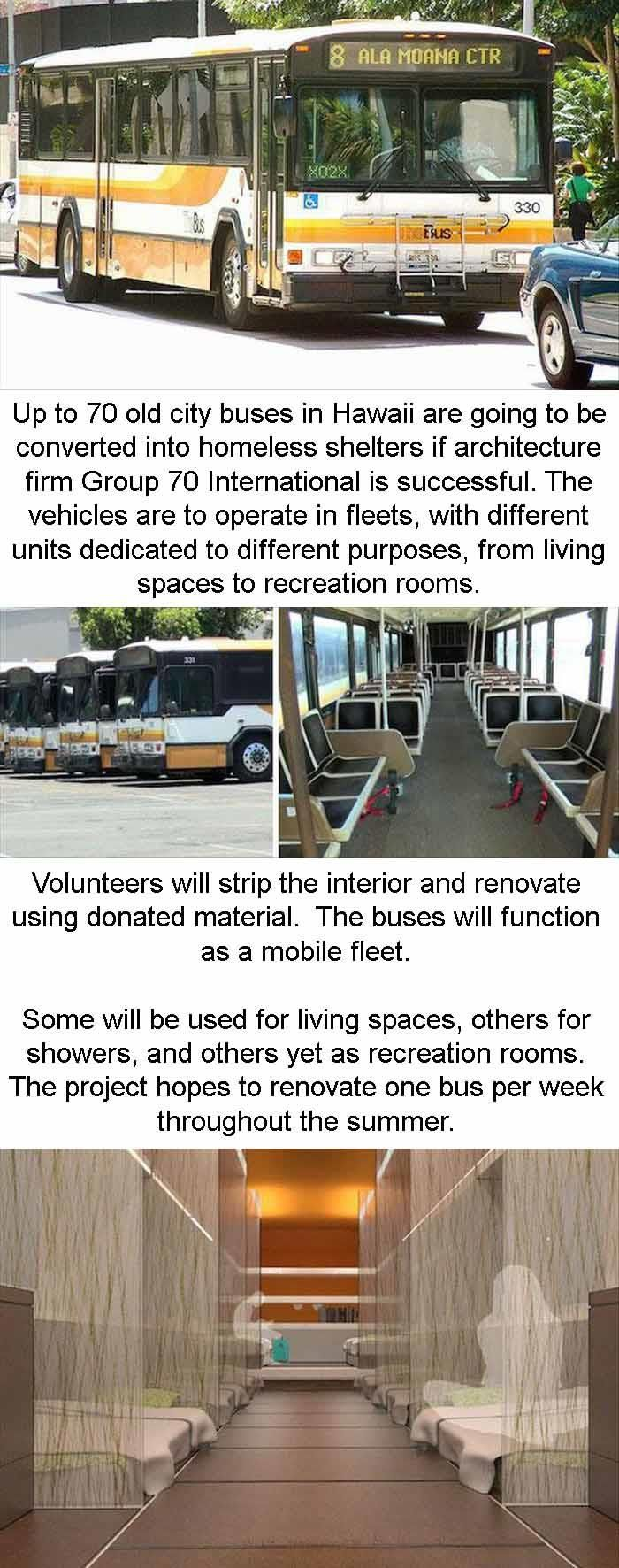 Old Buses Are Being Turned Into Homeless Shelters 3 Pics Homeless Shelter Humanity Restored How To Memorize Things