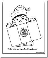 Poema Por El Dia Del Campesino Para Niños De Inicial Colorear Bandera De Peru 7 De Junio Dia De La Bandera Dia De La