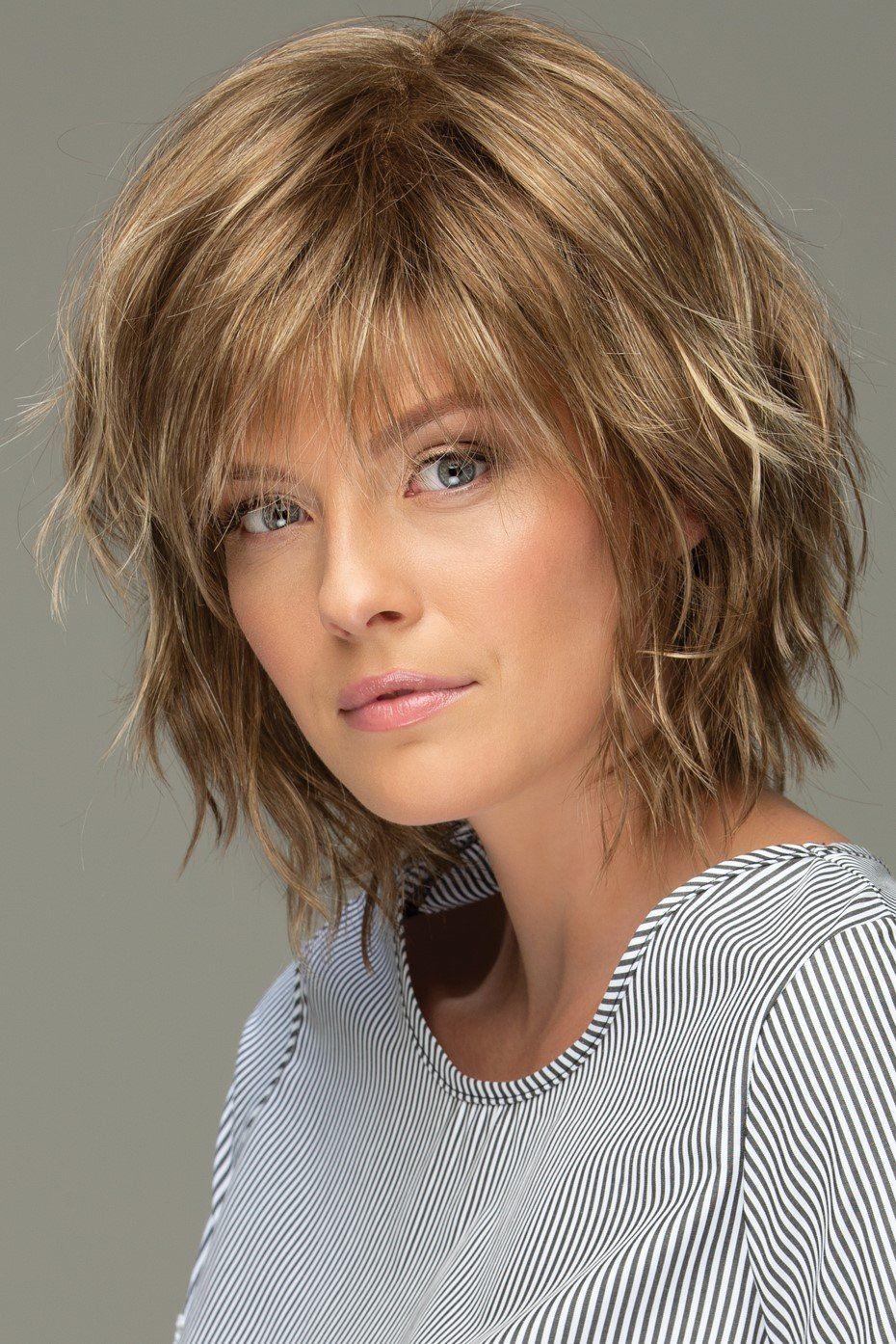 Estetica Wigs - Jones in 2020   Choppy bob hairstyles, Bob ...