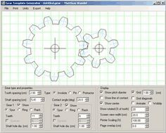 Gear Template Generator For Those Times When I Need To Draw The