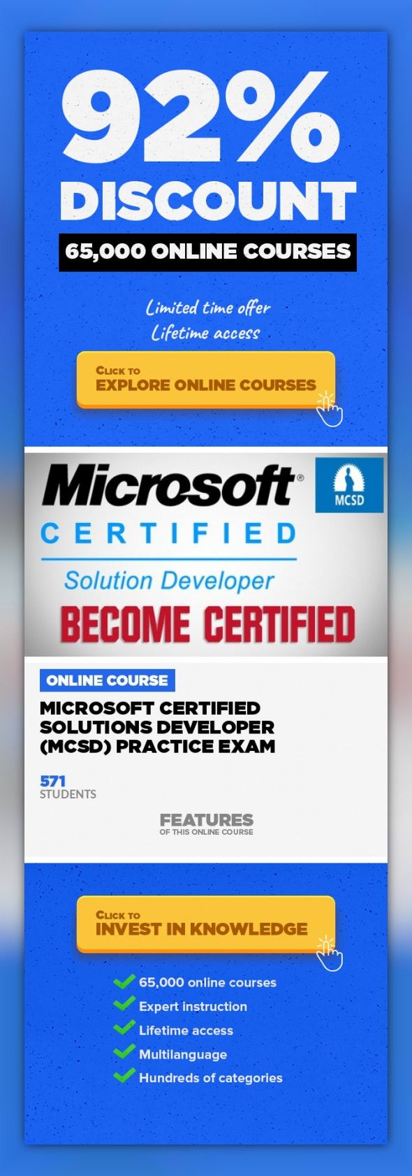 Microsoft Certified Solutions Developer Mcsd Practice Exam Web